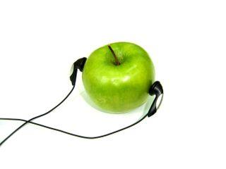 Applewithheadphones
