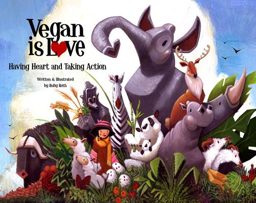 VeganIsLoveBookCover_web